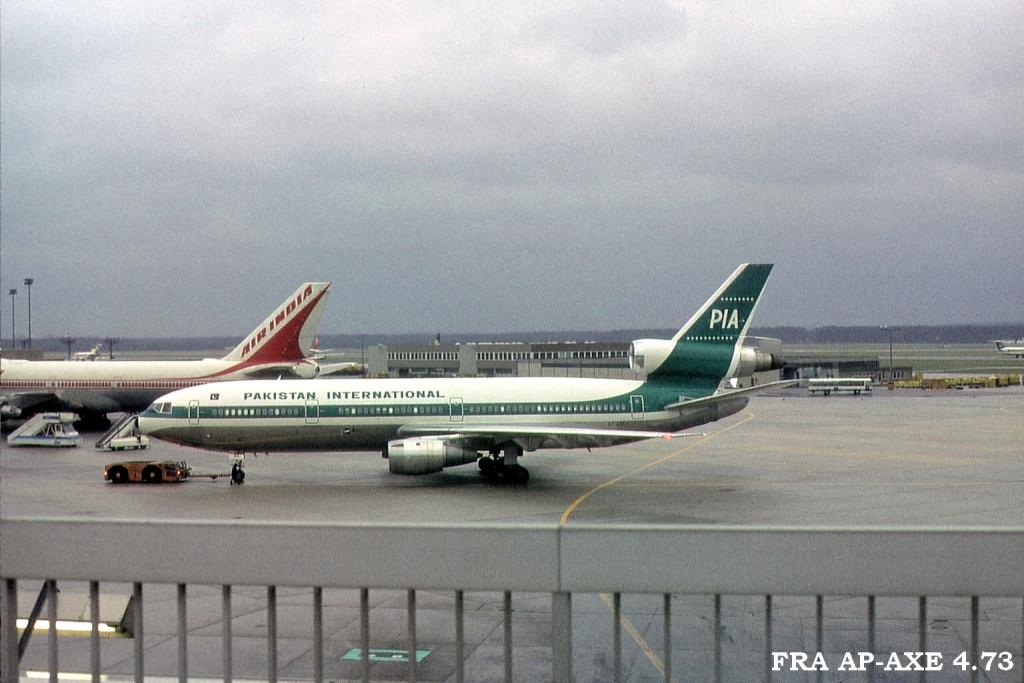 DC-10 in FRA Fraapaxed