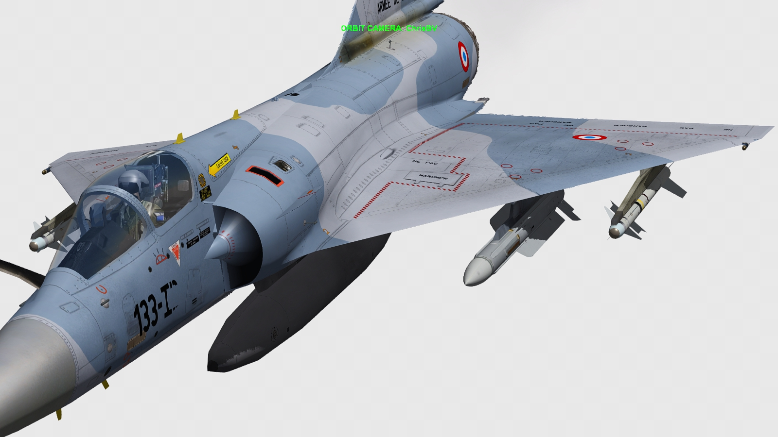 Mirage 2000D - Falcon BMS 4.32 S530d1