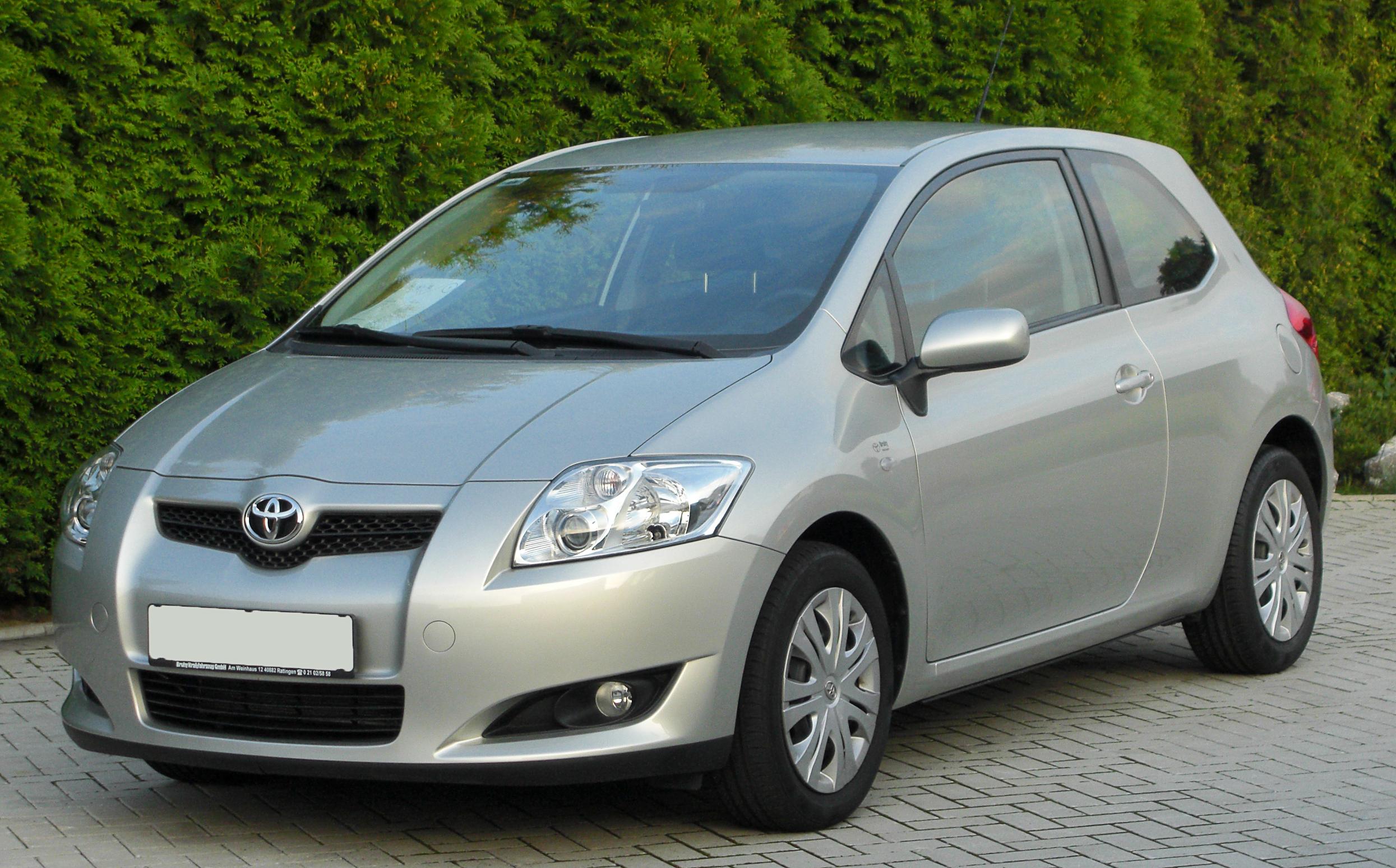 La Auris (2007 à aujourd'hui) Toyotaauris16solfront20