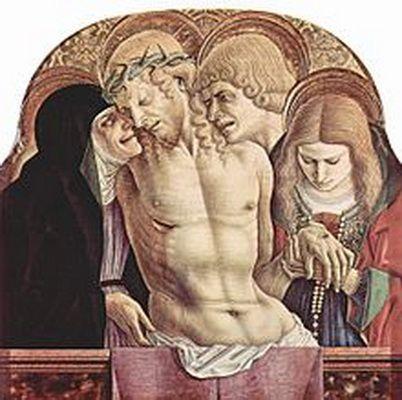 Pio V / Cristo muerto entre la Virgen y San Juan (R.M. SXVI-O15) Carlocrivelli048