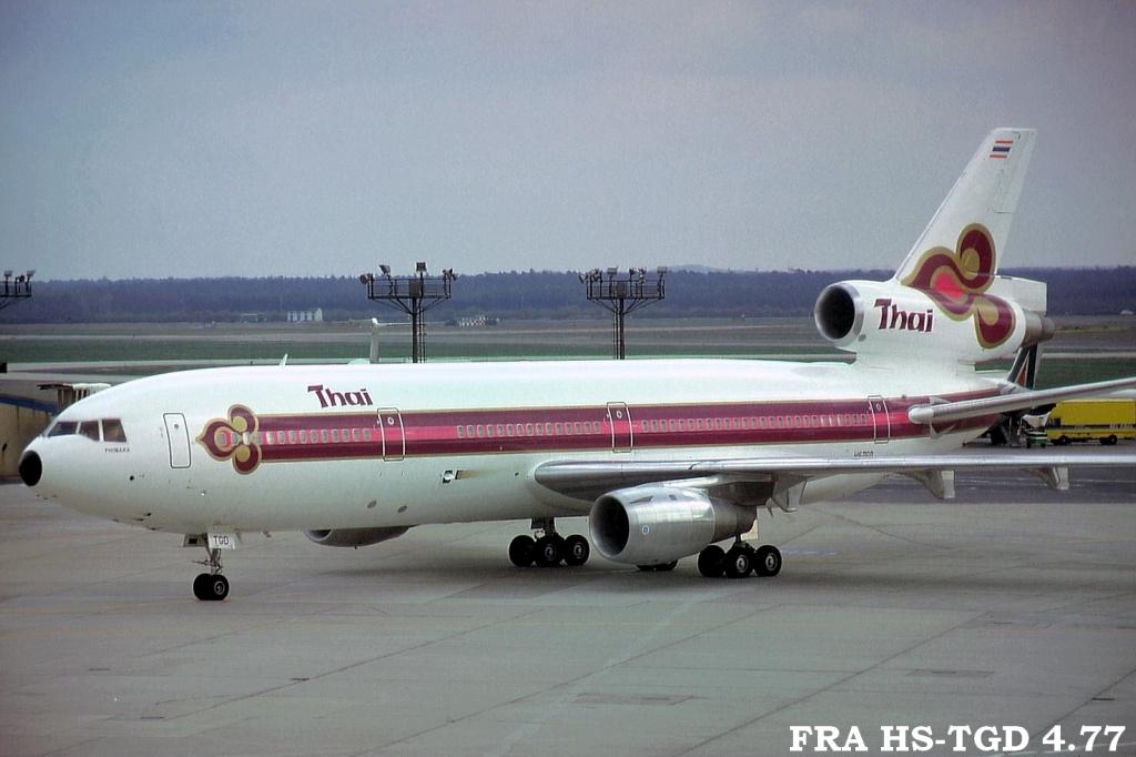 DC-10 in FRA Frahstgd