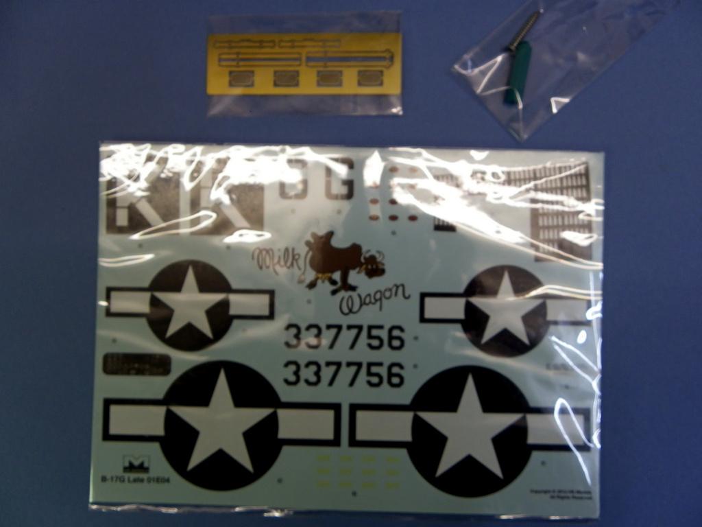 [Revue de Kit] BOEING B-17G - Hong Kong Models - 1/32 90l9