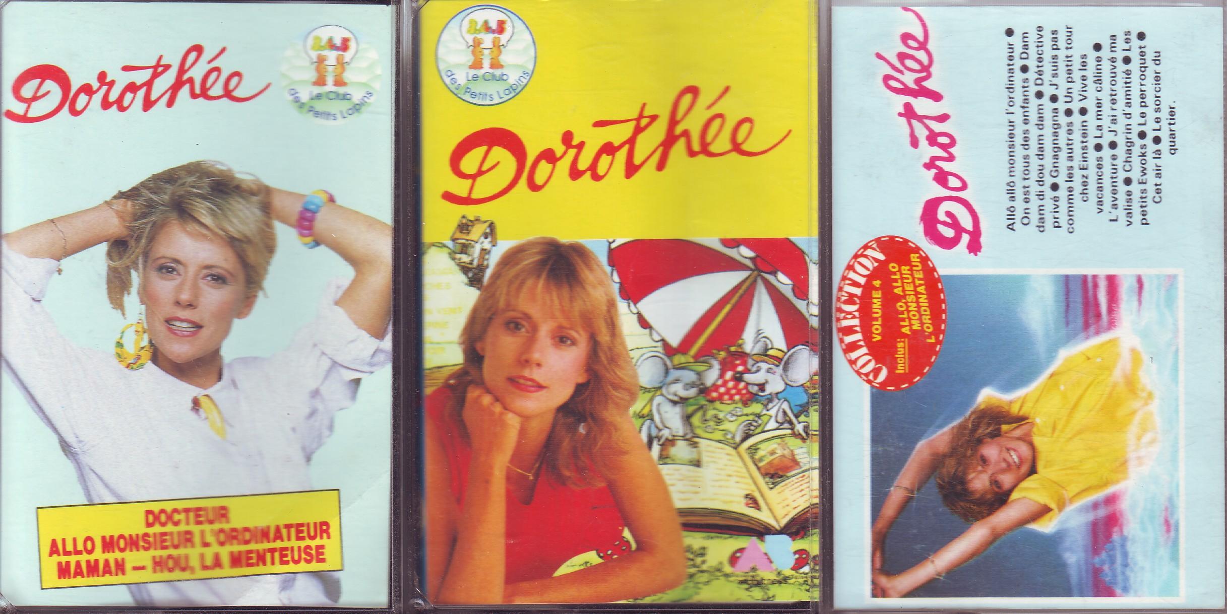 Dorothée et AB Productions (Récré A2 - Club Dorothée) Dorotheepuces