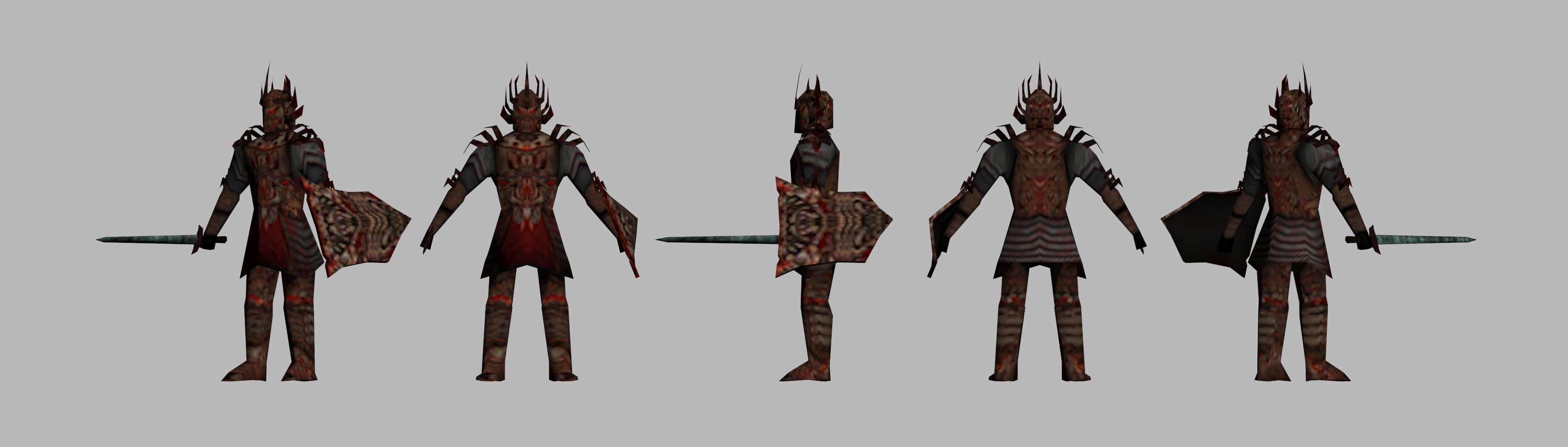 Oblivion mod - Page 2 Dremorawarrior
