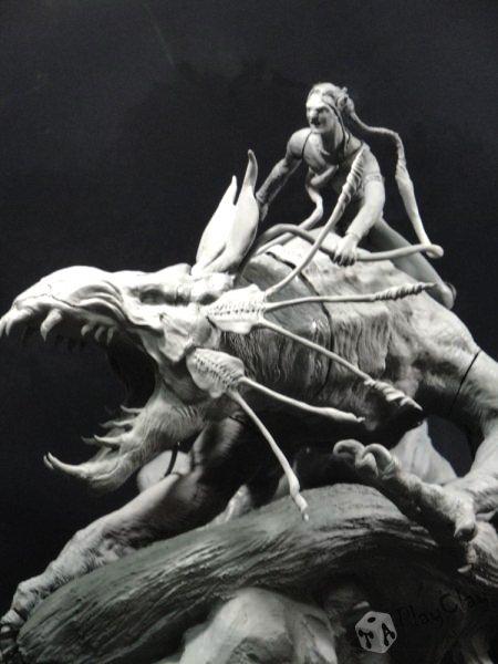 Diorama Jake Sully on Thanator by Taoplayclay 20839810150139954872076