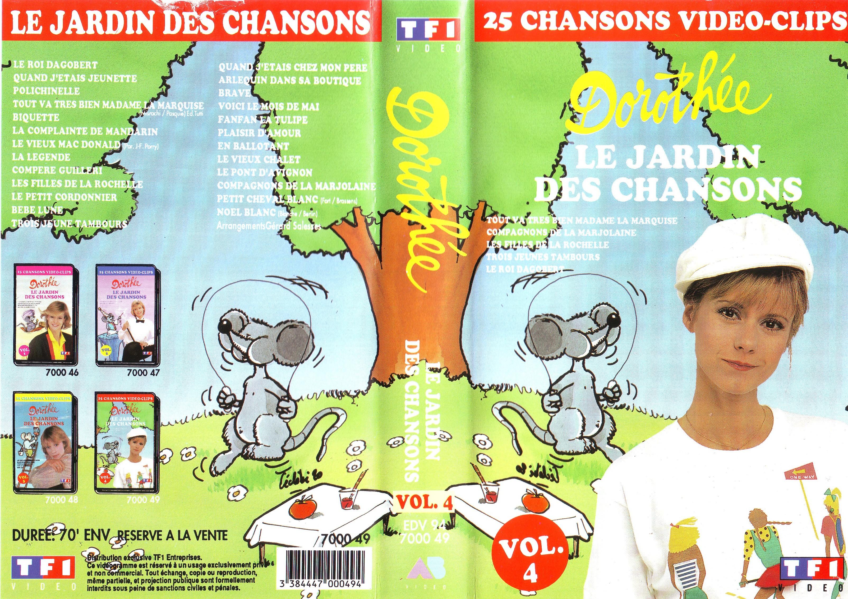 Dorothée et AB Productions (Récré A2 - Club Dorothée) Jardindeschansons944