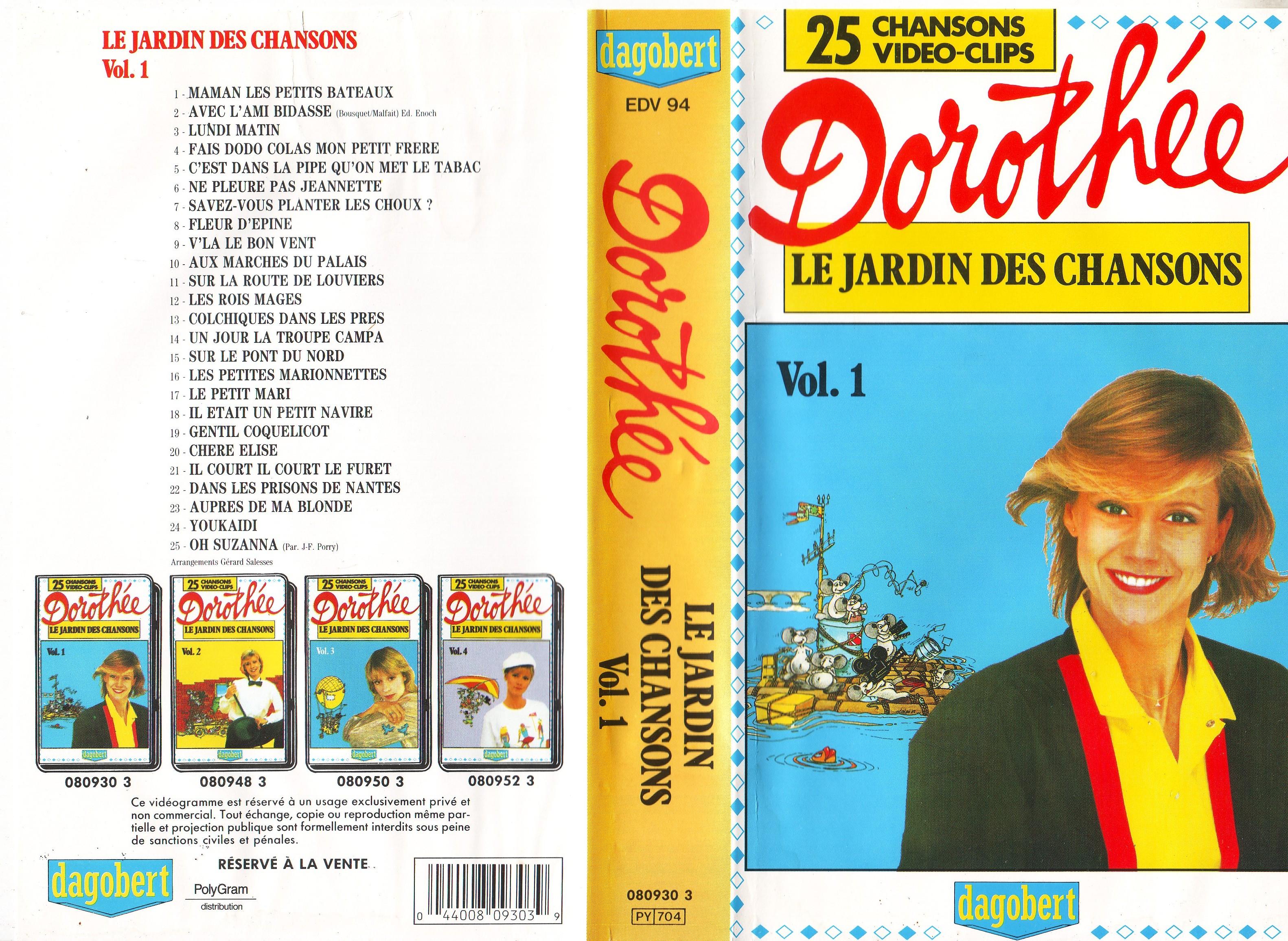 Dorothée et AB Productions (Récré A2 - Club Dorothée) Jardindeschansons88