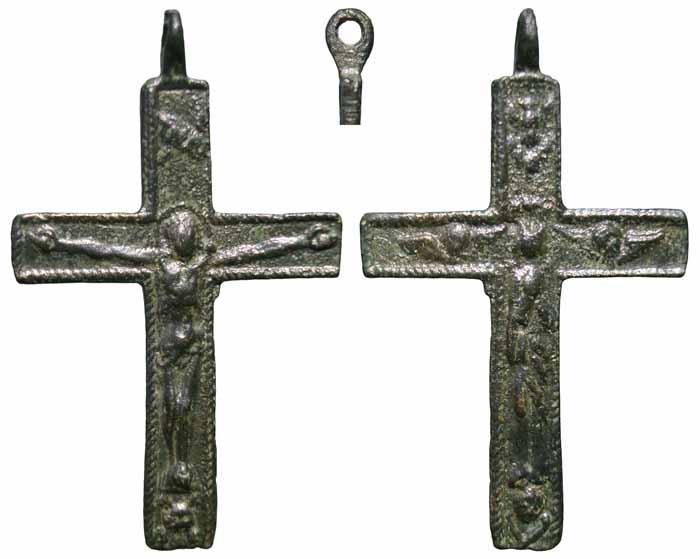 Pequeño crucifijo bifaz – CC(047) Cc047m