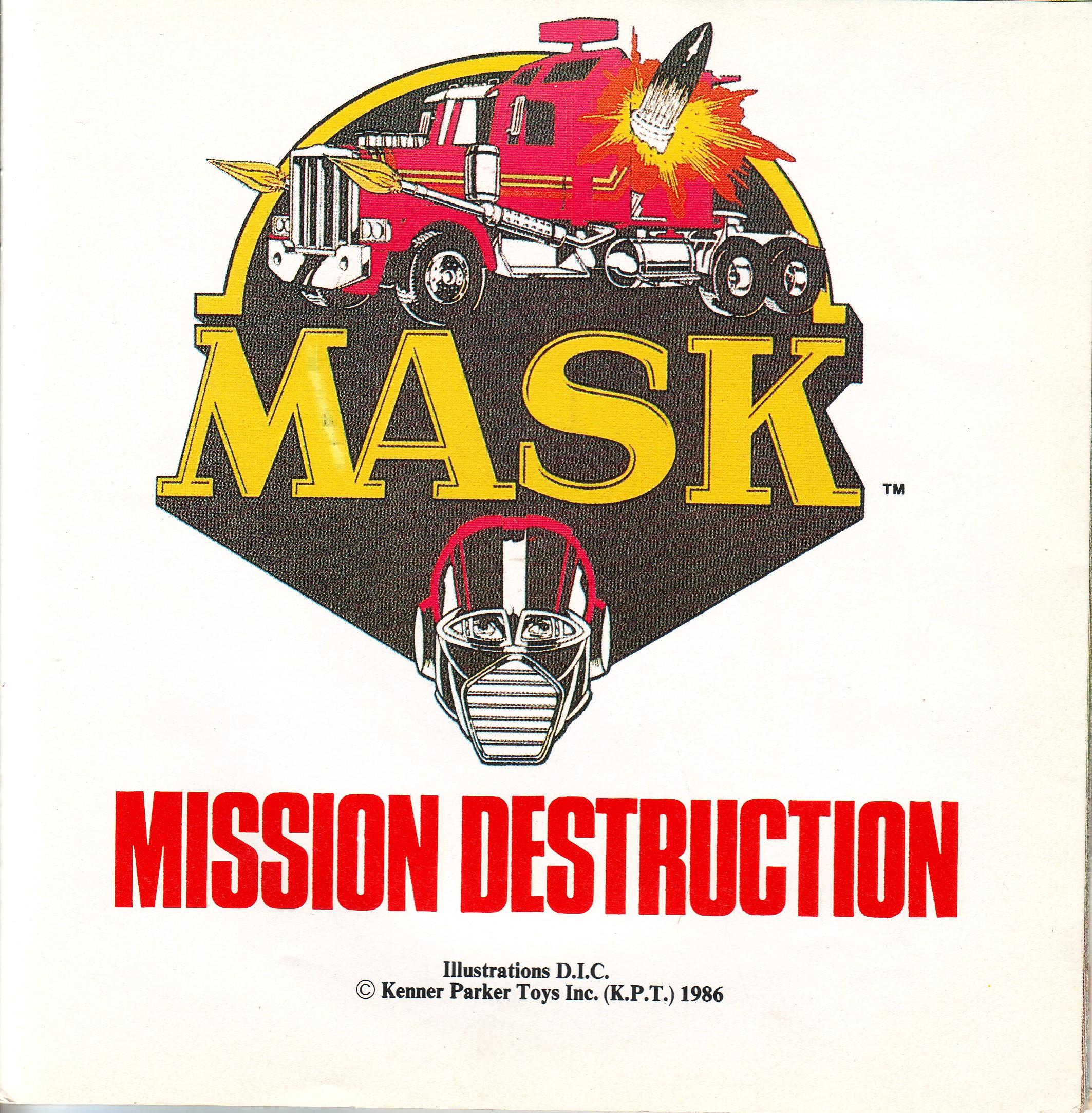 Dorothée et AB Productions (Récré A2 - Club Dorothée) Mask4