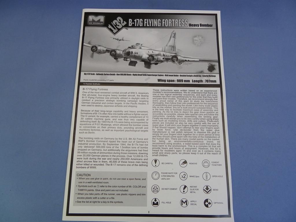 [Revue de Kit] BOEING B-17G - Hong Kong Models - 1/32 Zs7g
