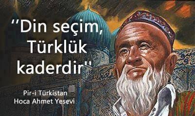 Din seçim, Türklük kaderdir. Tvw8