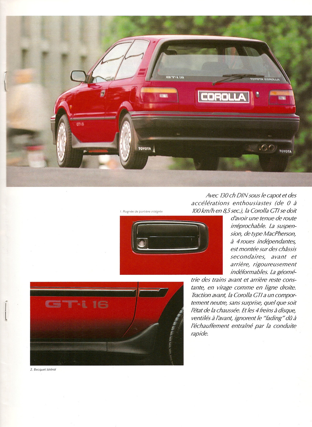 La E90 dans la presse. Toyotacorollagti16e