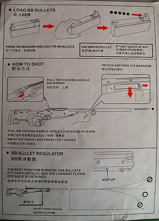 [Warrior  L96 type sniper OD]  +lunette 3-9x40mm+bi pied Page2aj1