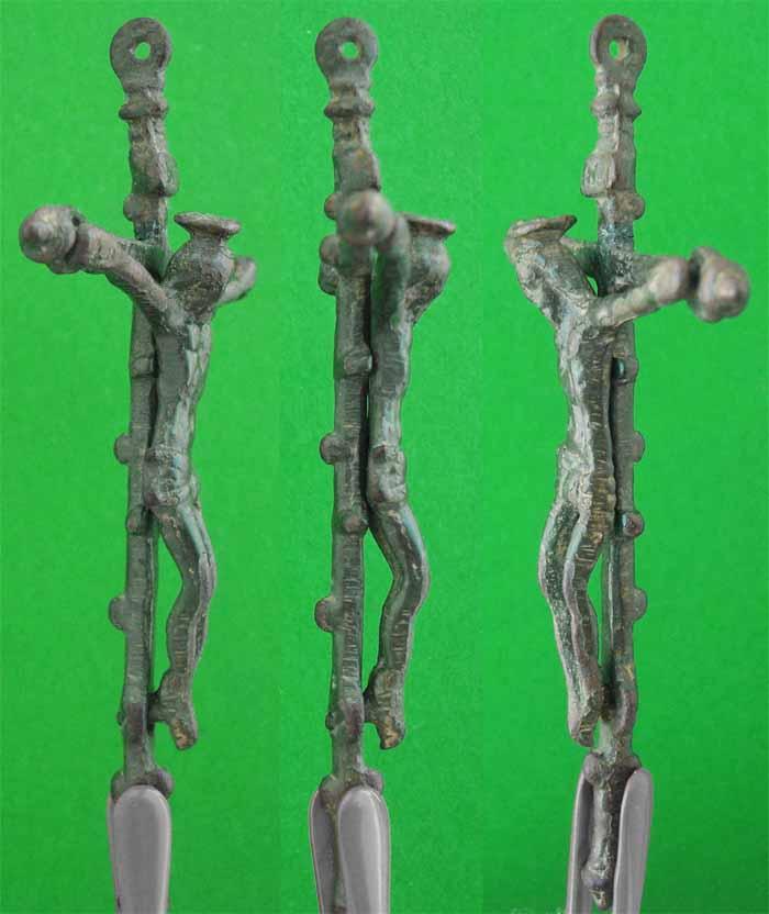 crucifijo barroco - Crucifijo barroco ff S-XVI - pp S-XVII - CC-032 -[Pec 002/S-XVI]* Cc032d