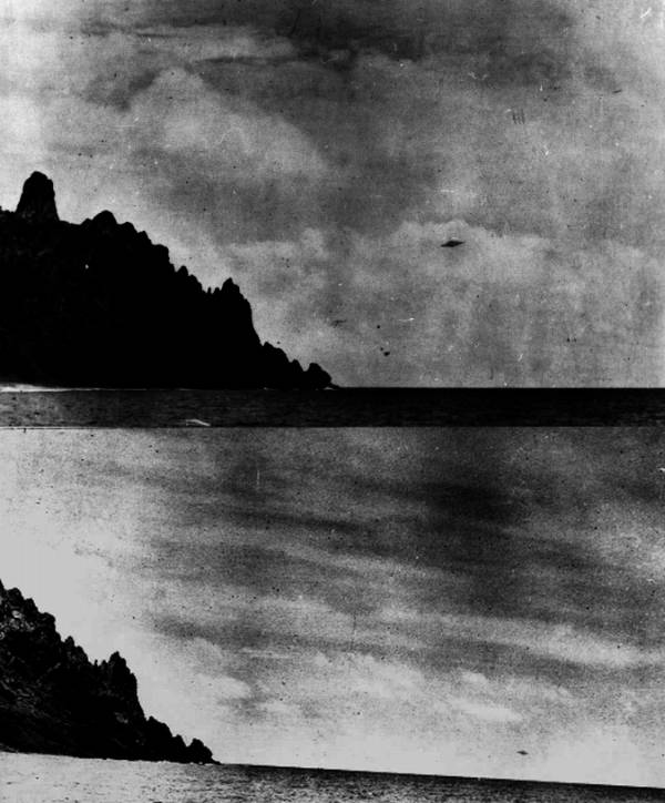 Photos de Trindade, Brésil (1958): un canular P1p4clouds2