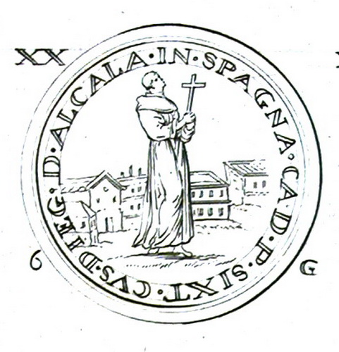 San Diego SP / San Jacinto de Polonia (SXVI-O9) Molinetdalcal