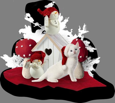 Animales de Navidad W24m