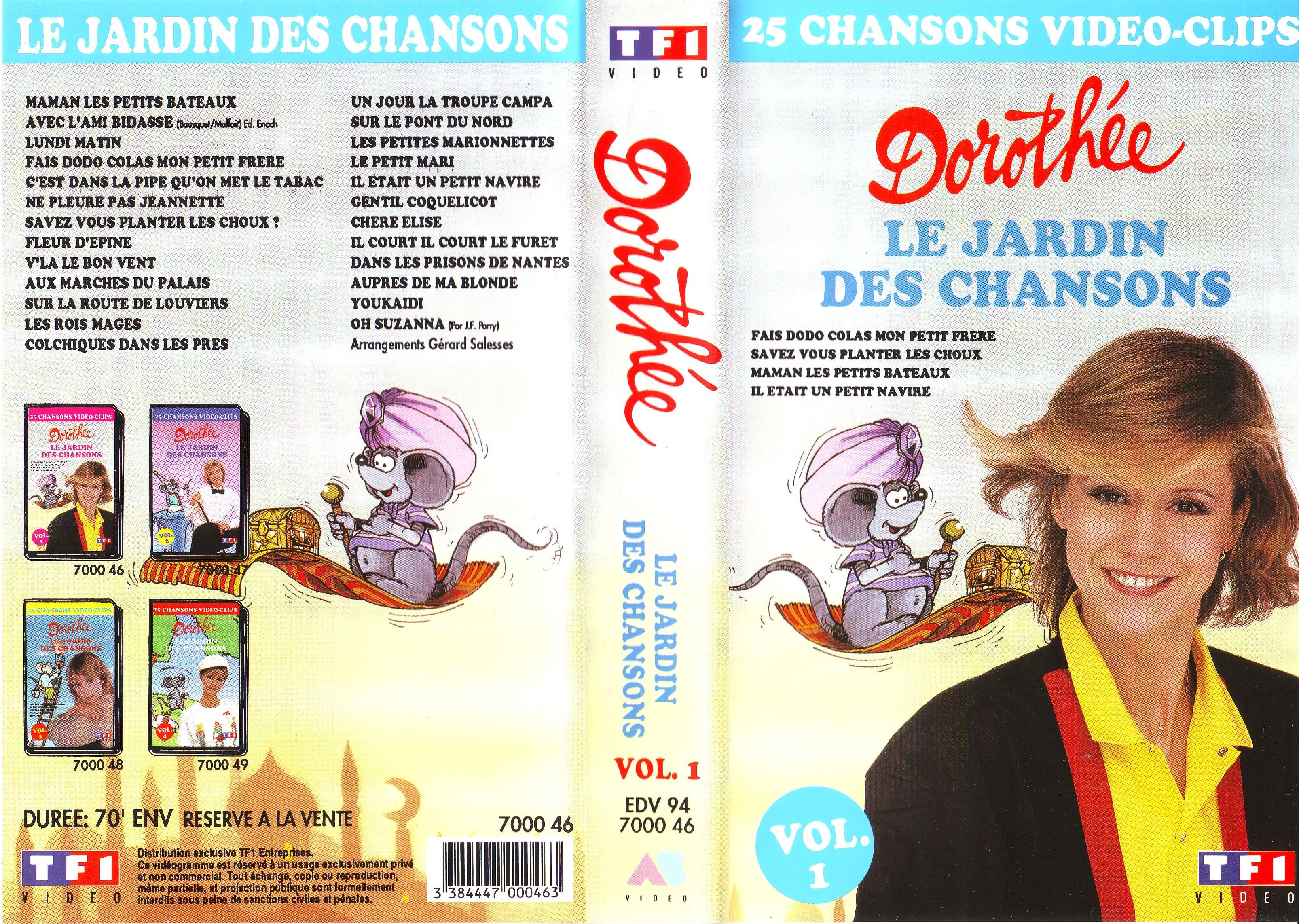 Dorothée et AB Productions (Récré A2 - Club Dorothée) Jardindeschansons941