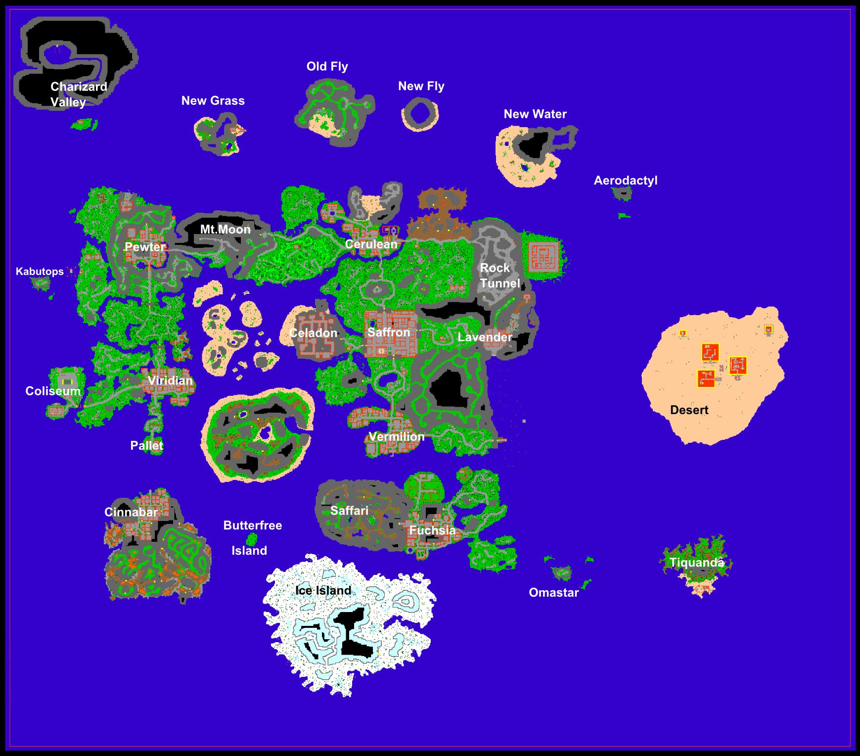 Aktualna mapa świata + automapy G3312
