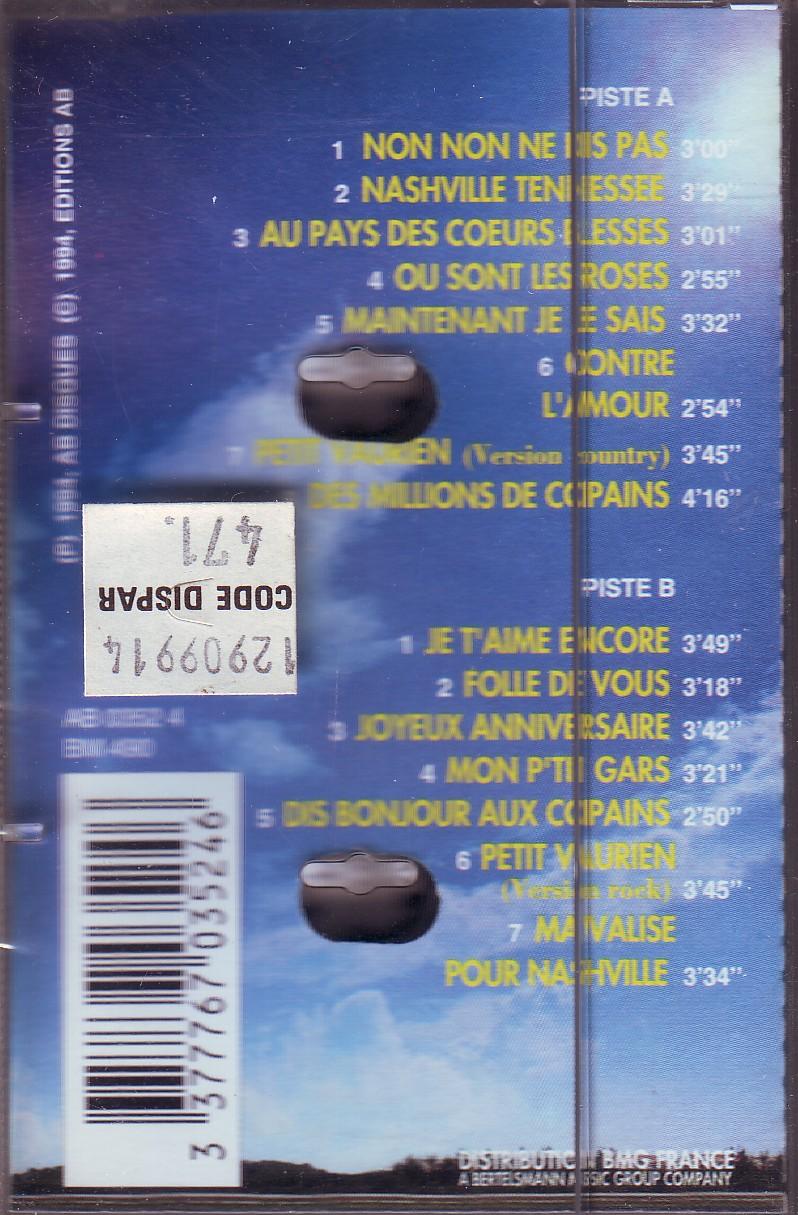 Dorothée et AB Productions (Récré A2 - Club Dorothée) K7dorothee942