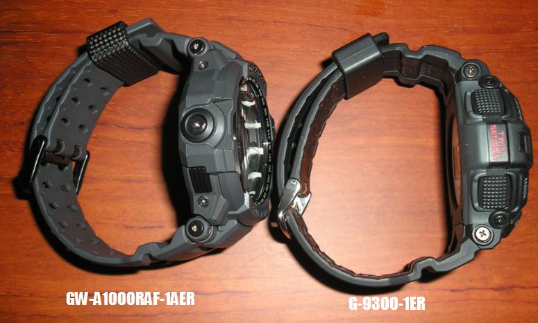 Comparativa GW-A1000RAF-1AER y Mudman G-9300-1ER 96268562