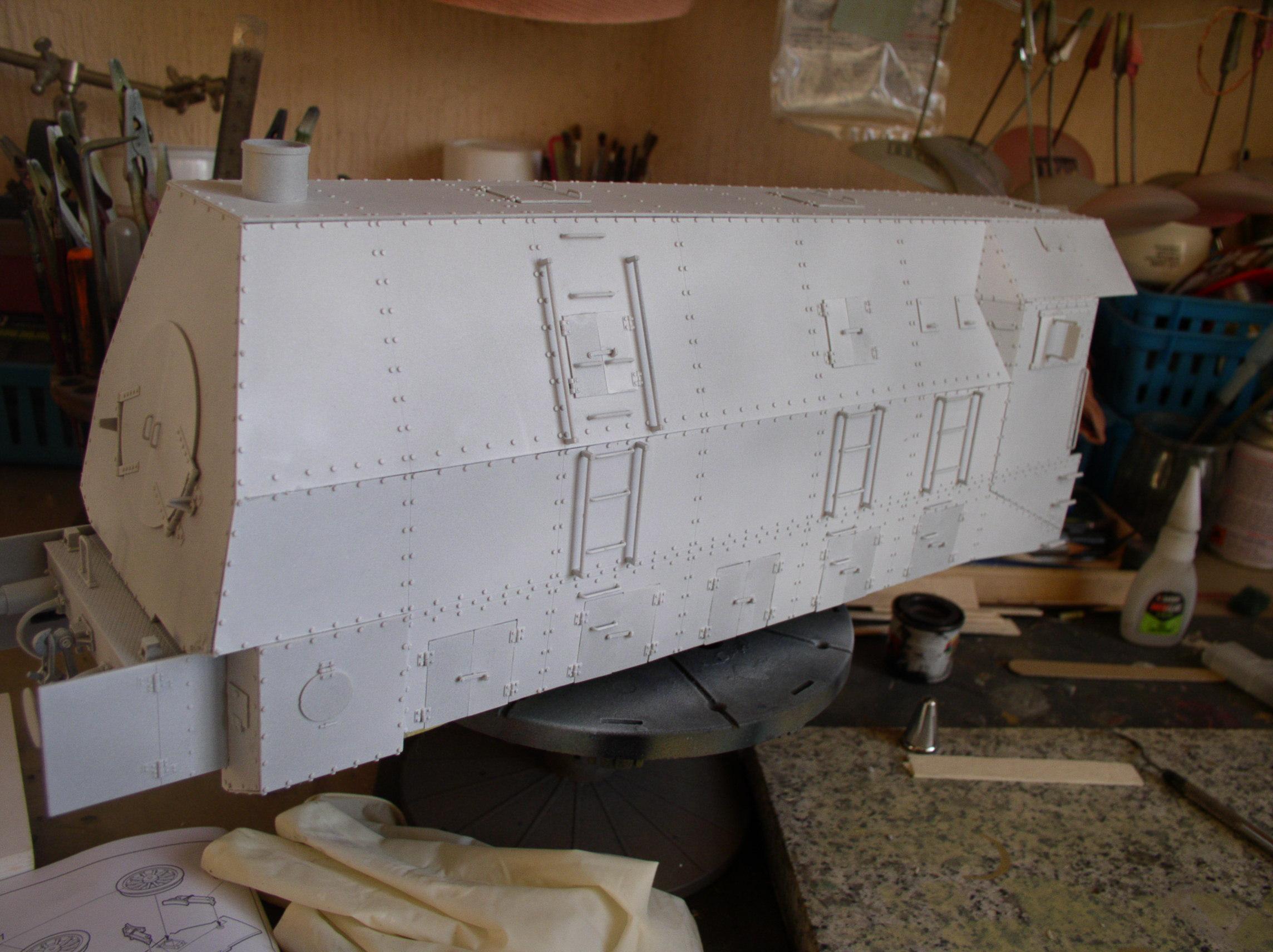 peinture - (Thunderbird) BR 57 Baureihe Panzerlok (Peinture en cours)  - Page 2 54020572