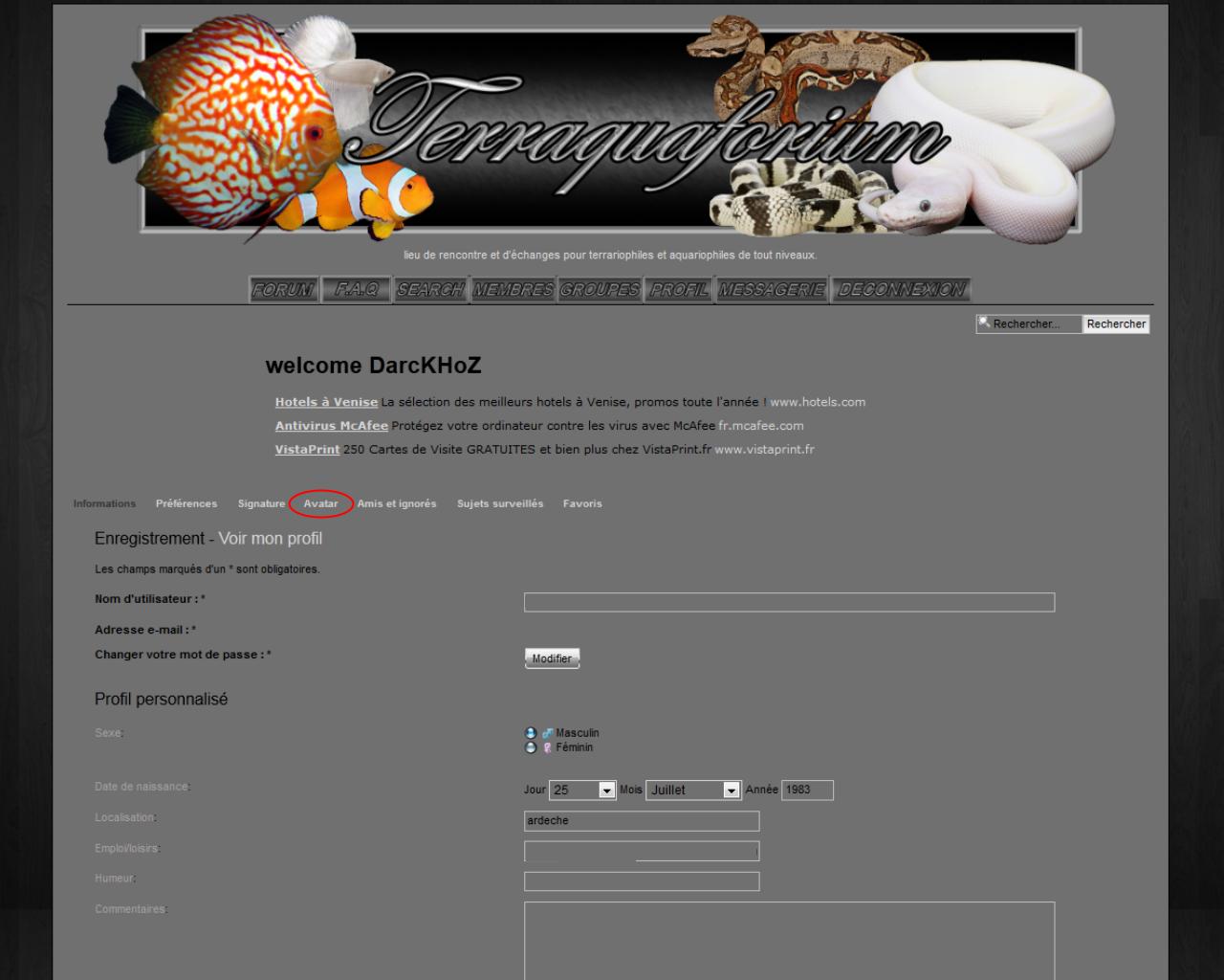 tuto changer son avatar (image de profil) Tutoimageprofilp2