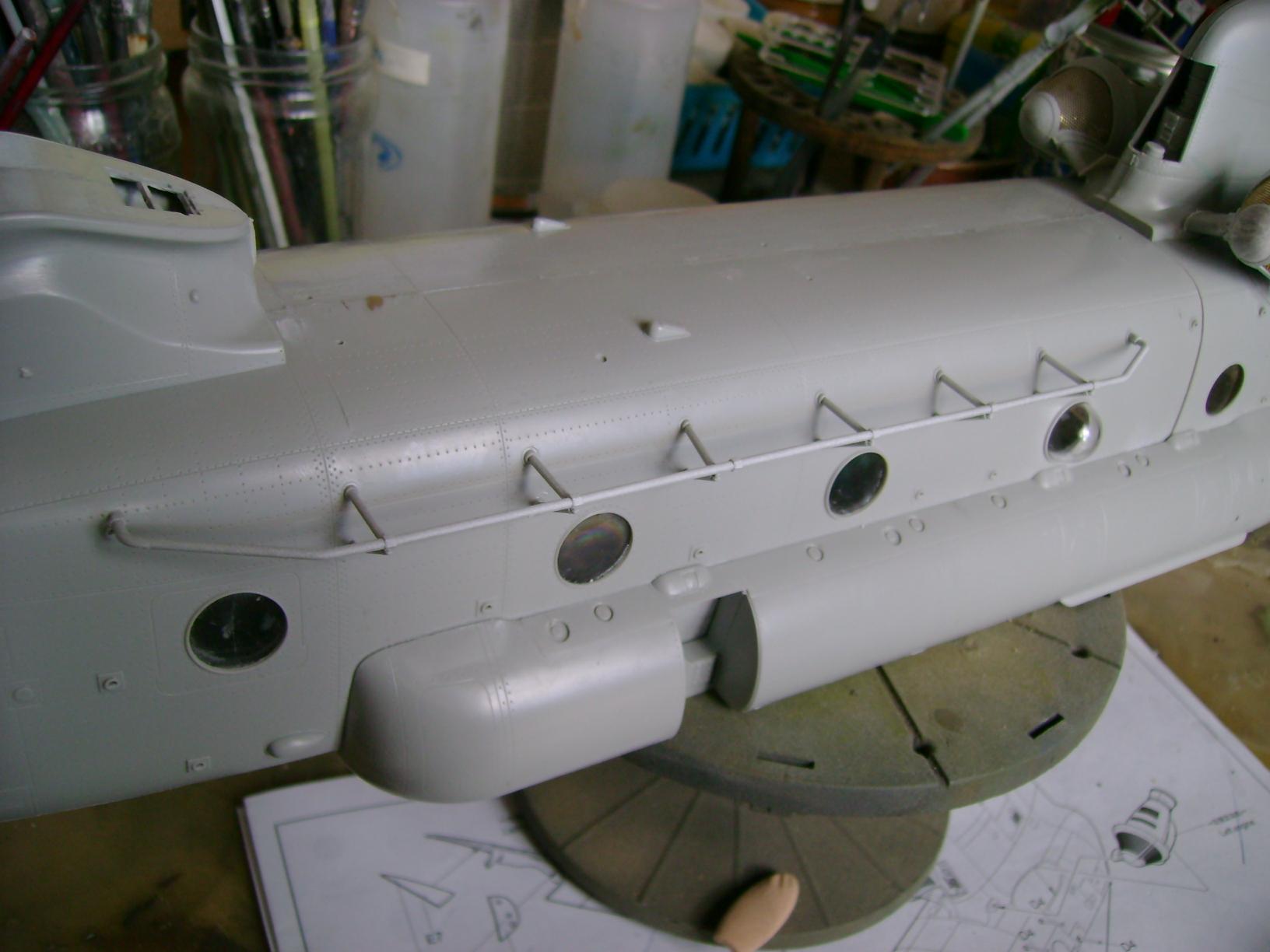 """CH-47D """" Chinook""""....Début de montage...1/35 Trumpeter.Up du 05/05... 88475701"""