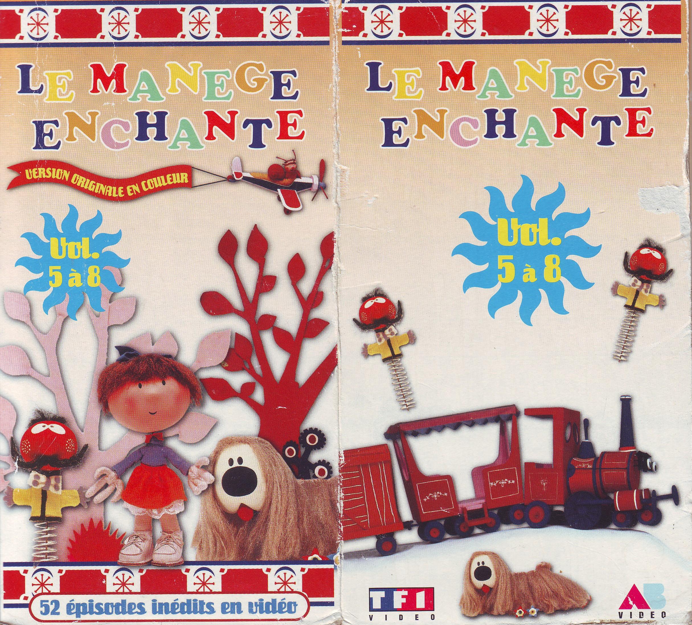 Dorothée et AB Productions Manegeenchante1