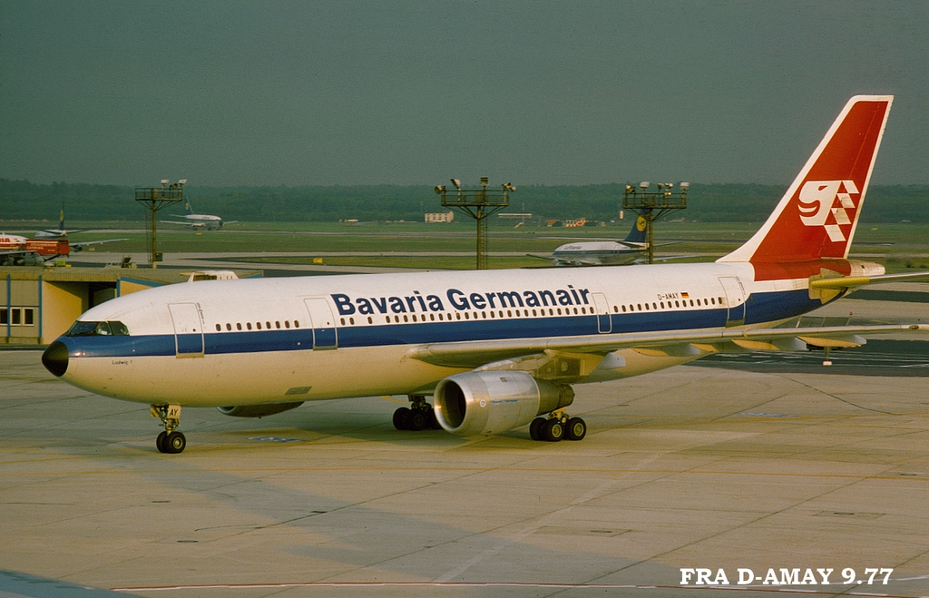 A300 in FRA 5fradamaya