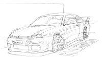 Mes dessins, ma passion, ma vie - Page 2 Maxspeed200sx33cm.th