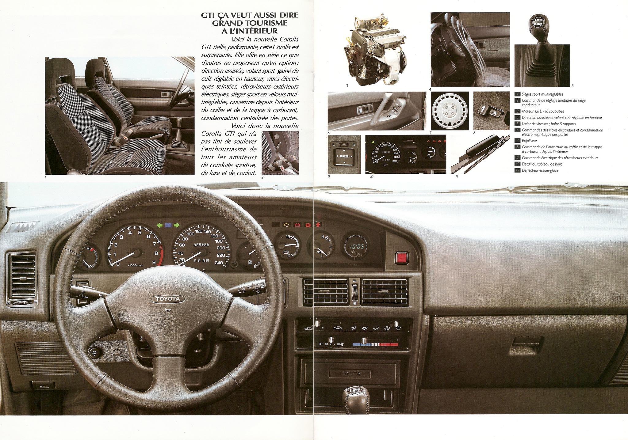 La E90 dans la presse. Toyotacorollagti16f