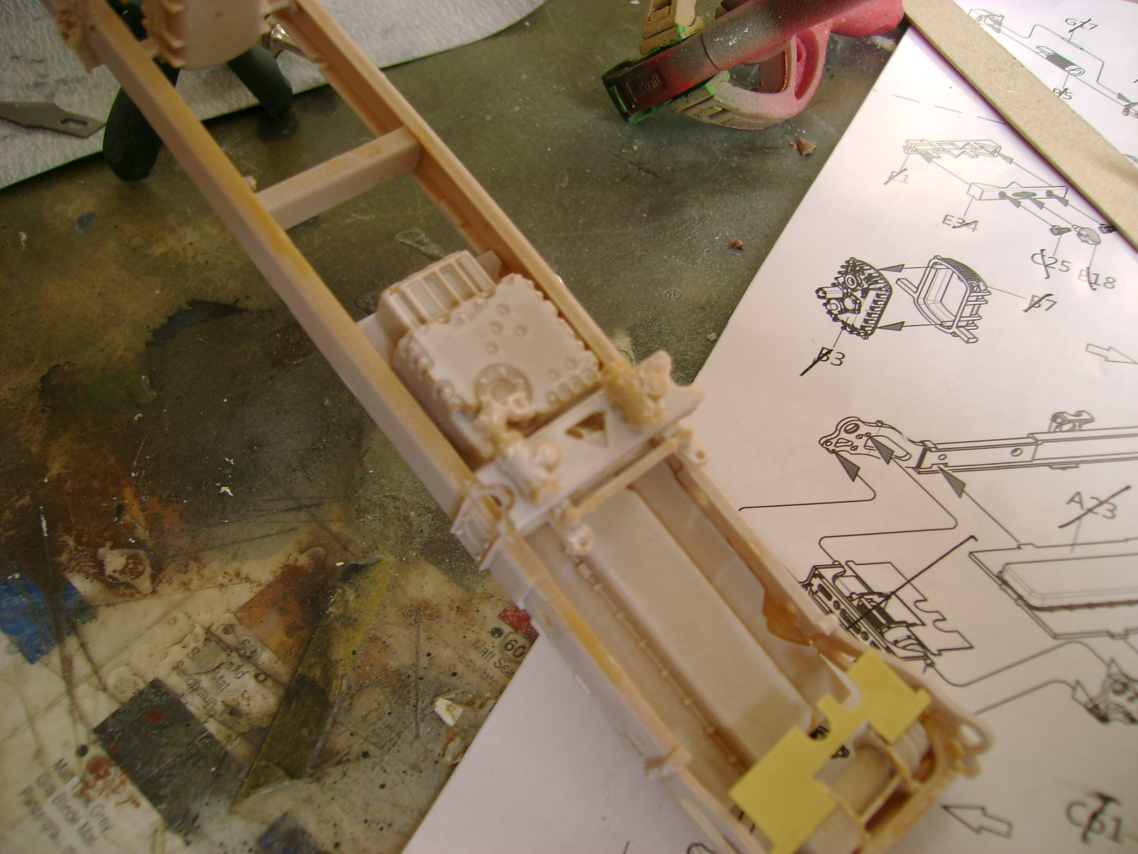 M-ATV Oshkosh....Kit Panda 1/35...Projet terminer !!!!!!!!!! ENFIN !!!!!!!!! 27088441
