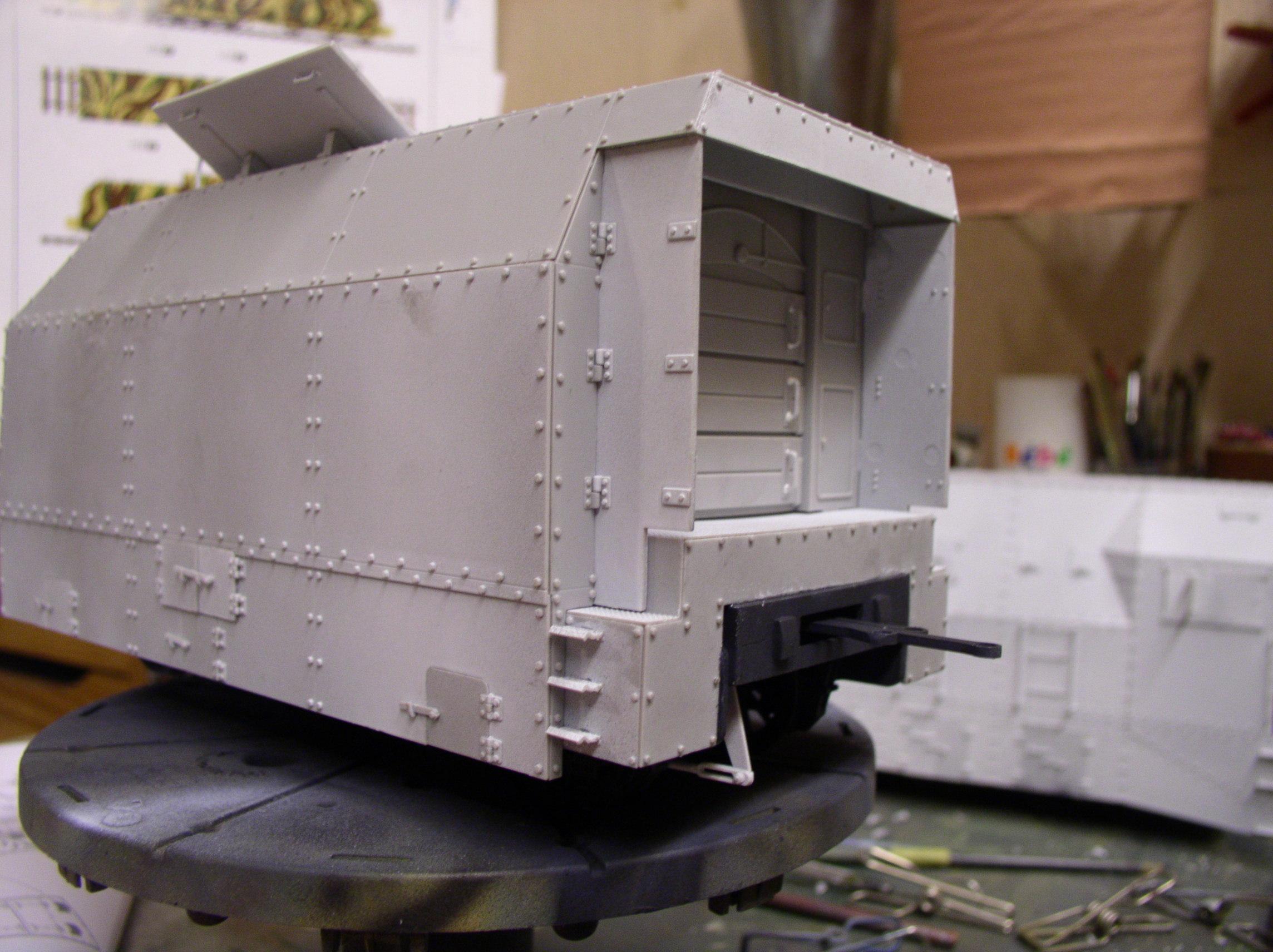 peinture - (Thunderbird) BR 57 Baureihe Panzerlok (Peinture en cours)  - Page 2 132ar