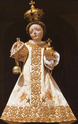 Niño Jesús de Loreto en Salzburgo - Cruz de San Benito, (R.M. SXVIII-O187) Filzmoos