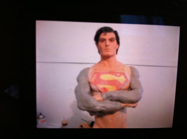 Cinemaquette Superman Transformation Supsarms3