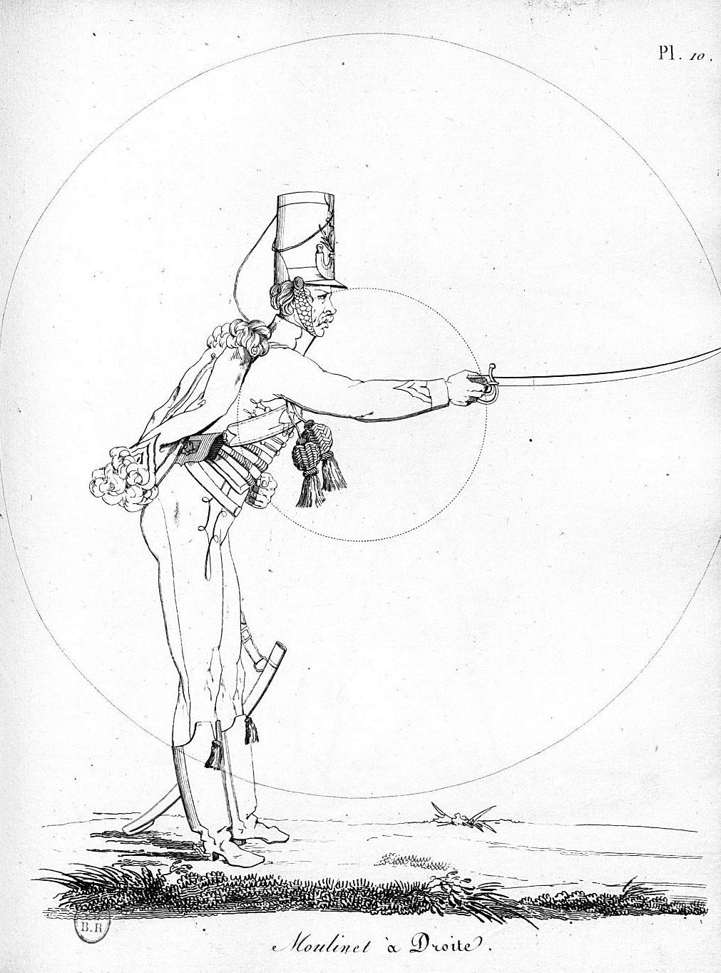 M. J. de St. Martin, maitre d'armes Sanstitrebme