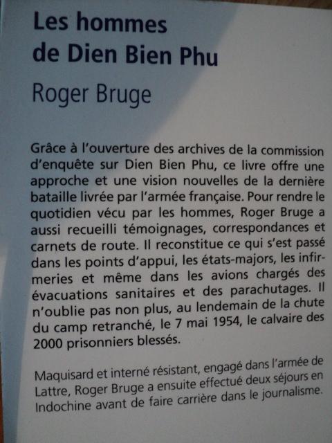 Les hommes de Dien Bien Phu par  Roger Bruge  Dsc00474qy