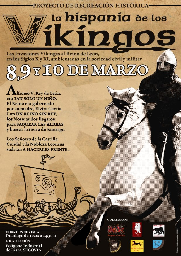 """Evento """"La Hispania de los vikingos 2013"""" Lahispaniadelosvikingos"""