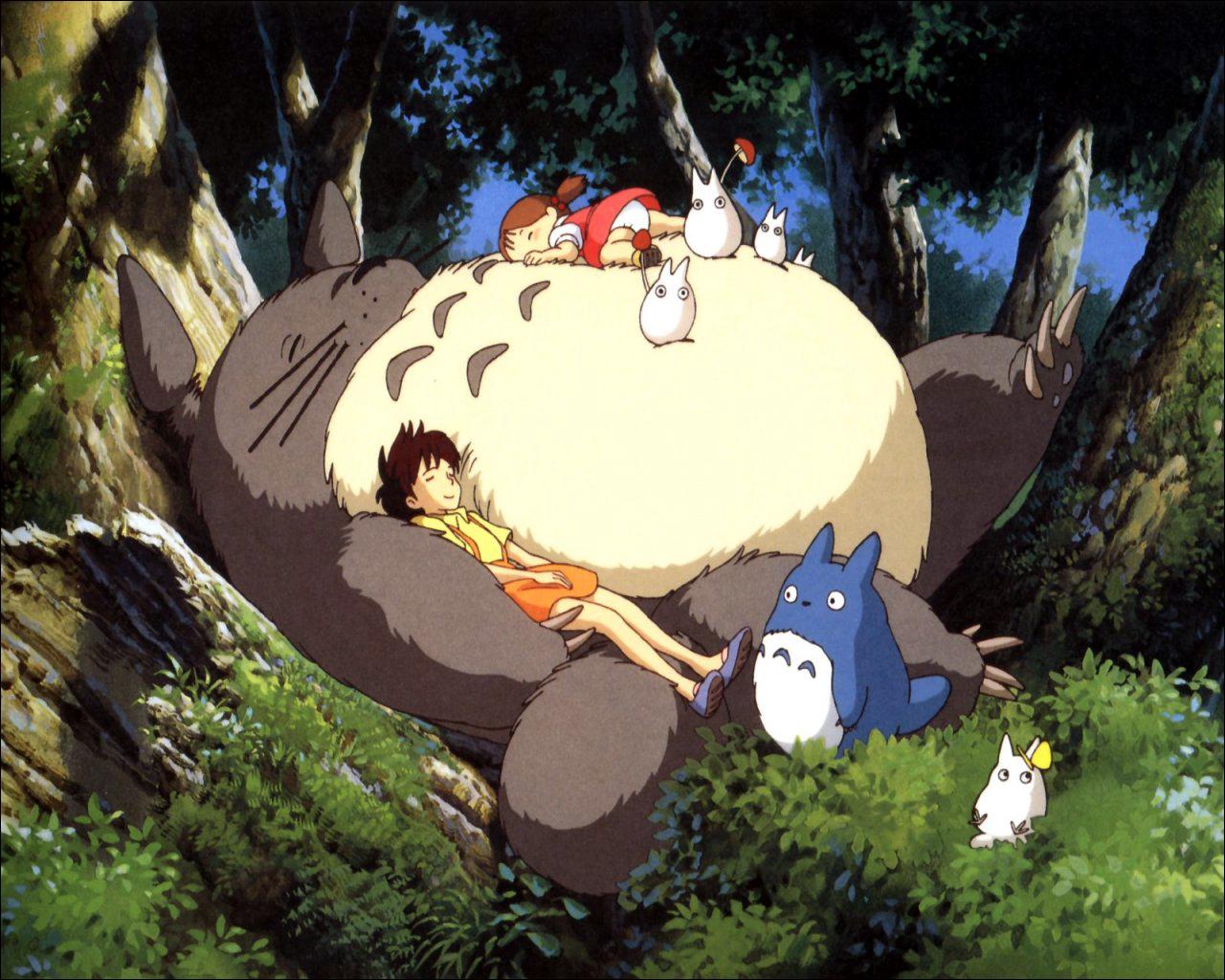 Mon Voisin Totoro Totorosieste
