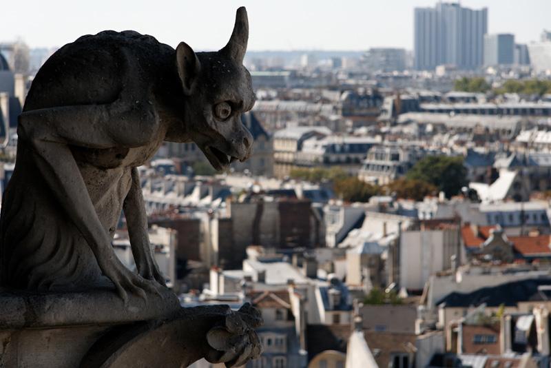 Chimères de Notre-Dame de Paris Img5283bk9