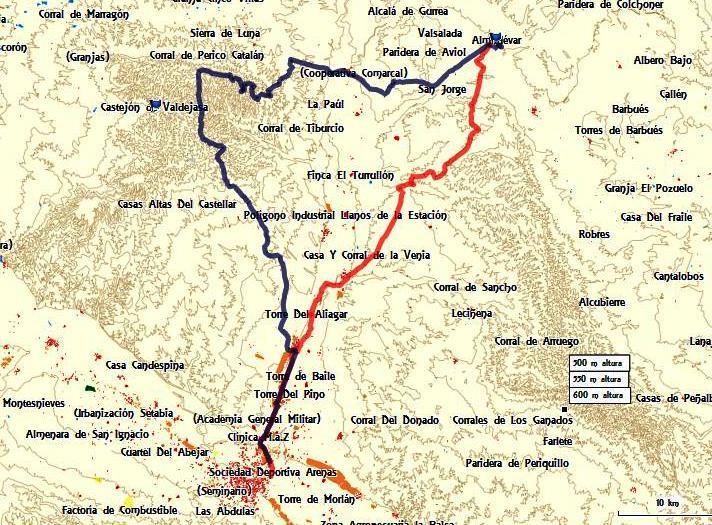 Sabado 27 Julio 2013. Zara-almudevar-gurrea-castejon-montes-zaragoza Tjev