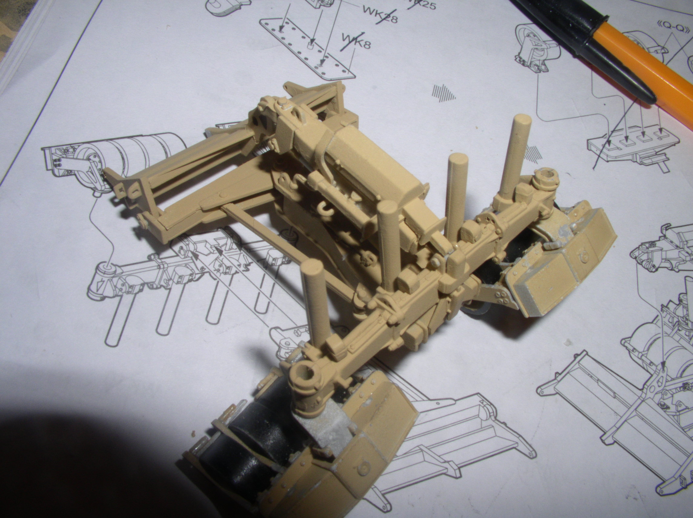 Stryker 1132 mine roller 1/35 Trumpeter Dio terminé 67057071