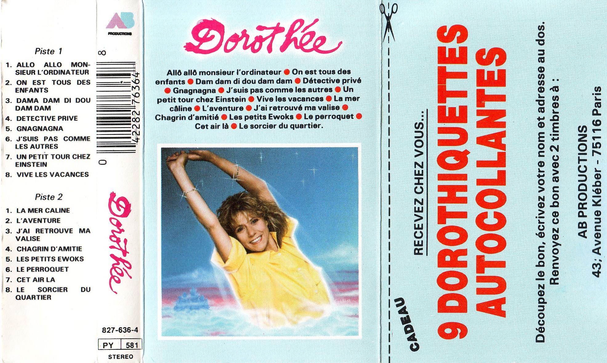 Dorothée et AB Productions (Récré A2 - Club Dorothée) Dorothiquetes