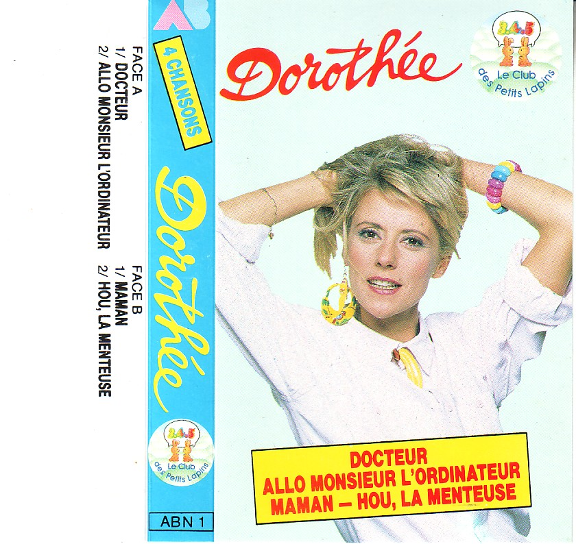 Dorothée et AB Productions (Récré A2 - Club Dorothée) Dorothee4titres4
