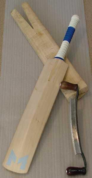The art of batmaking... Backofbatvk3