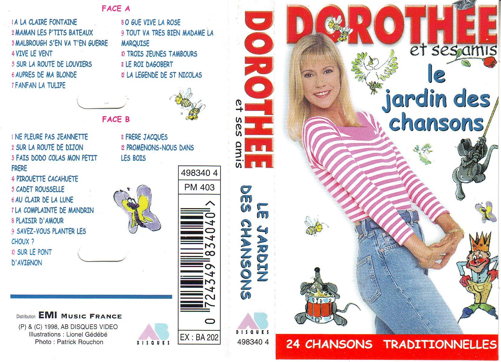 Dorothée et AB Productions Dorotheetraditionnel1