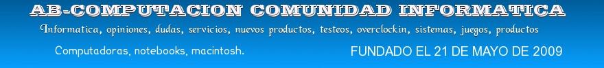 ab-computacion foro - servicios - dudas - preguntas y respuestas a los temas informaticos