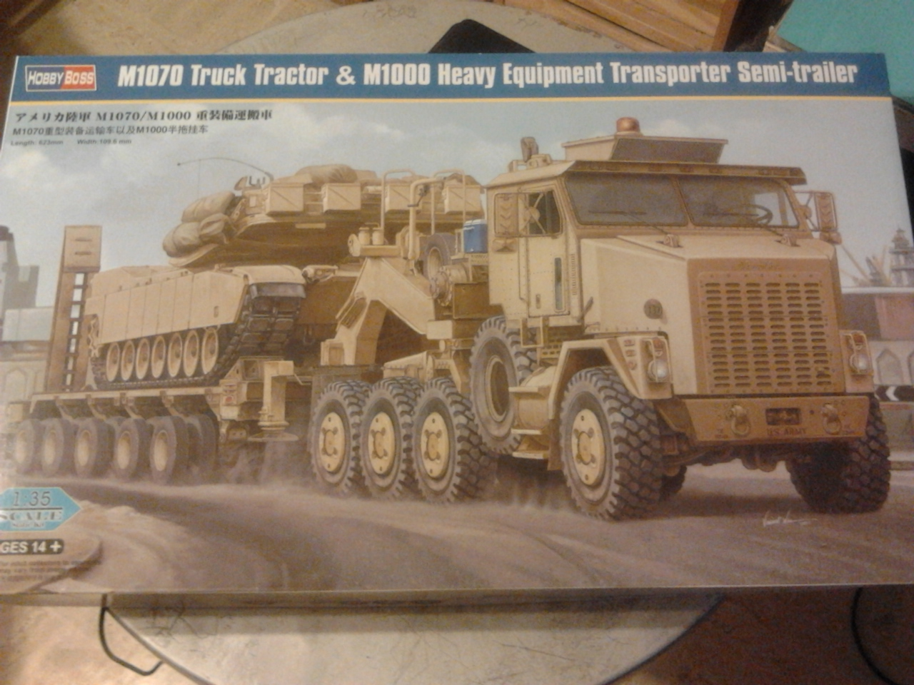 M1070 Truck Tractor & M1000 Semi-Trailer By T-bird!!!!! 1/35 Hobby Boss.Up du01/02.... 20120809211811