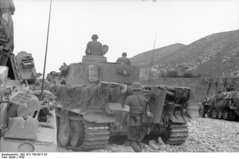 Tiger I du sPzAbt. 501 en Tunisie 1943 Tigerinr142spzabt501nor